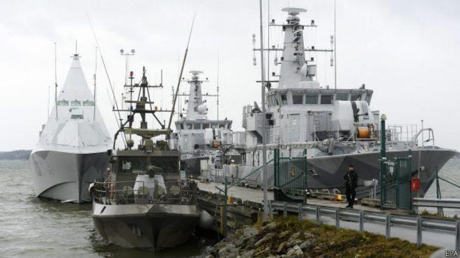 Embarcaciones suecas