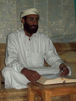 Imam Anwar al-Awlaki in Yemen October 2008, ta...