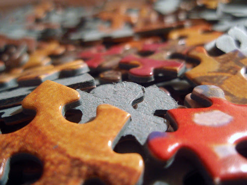 38/365 Puzzled by Mykl Roventine.