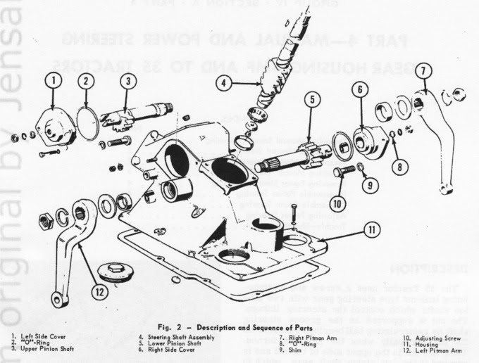 Massey Ferguson To35 Parts Diagram