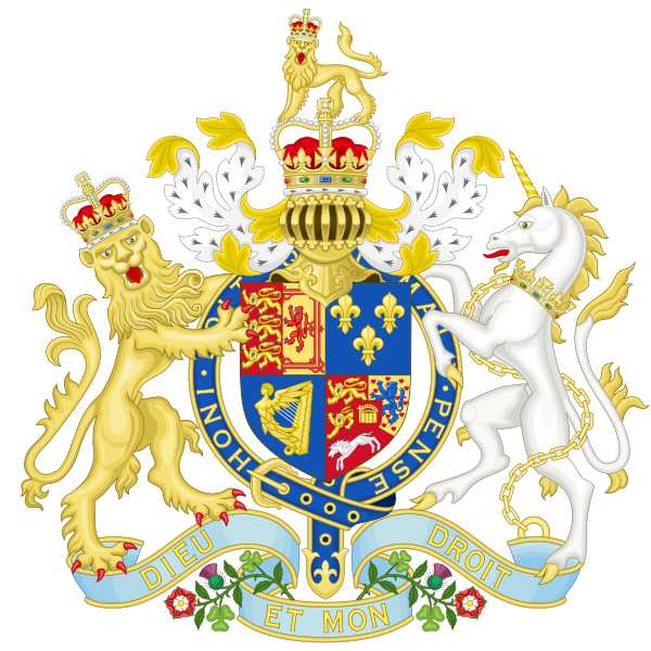Archivo:Coat of Arms of Great Britain (1714-1801).svg
