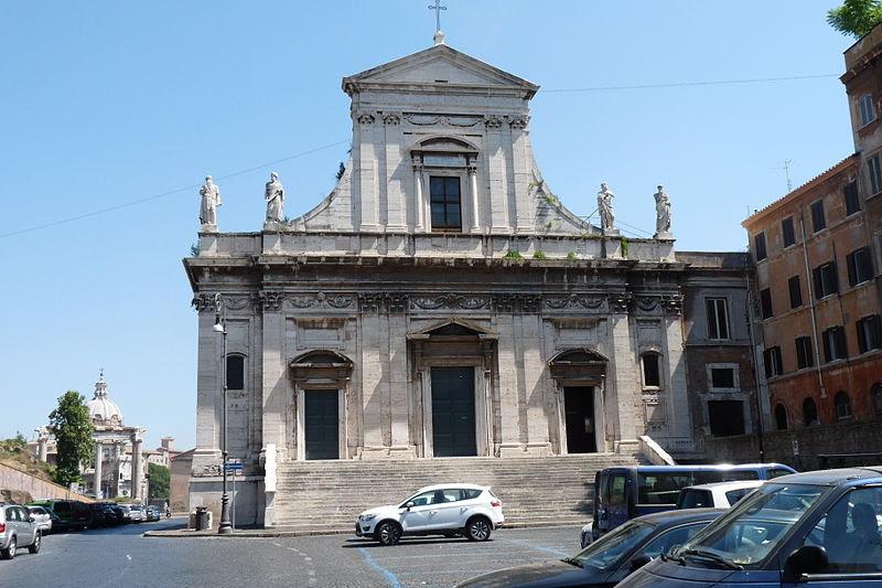 Fil: Santa Maria della Consolazione Roma - exterior.JPG