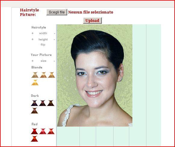 Tagli di capelli colore e pettinatura online per parrucchieri virtuali