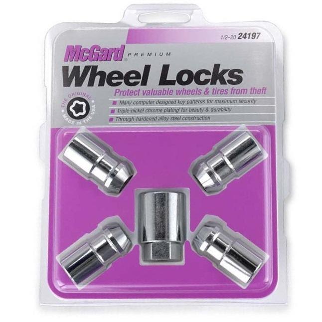 Mcgard Locking Wheel Nuts 454 Smart Forfour
