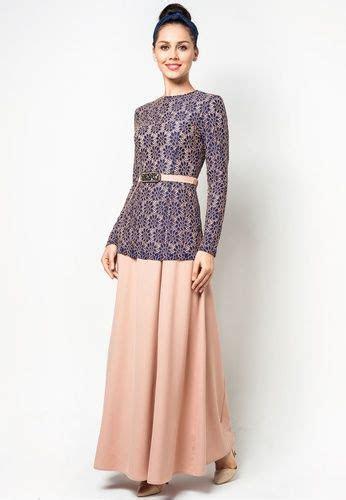 embroidered lace  piece jubah  melinda looi zalora