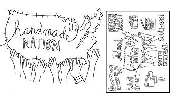 Handmade Nation & Sublime Stitching Pattern available NOW