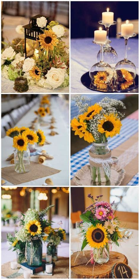 47 Sunflower Wedding Ideas For 2016   floral ideas