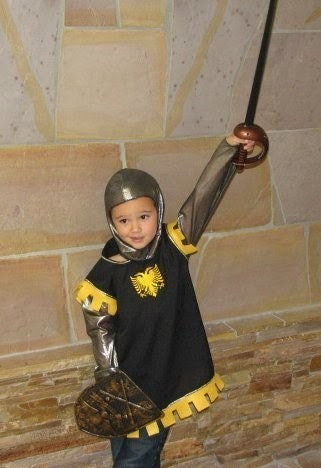 Boys Knight Tunic Renaissance Medieval Costume