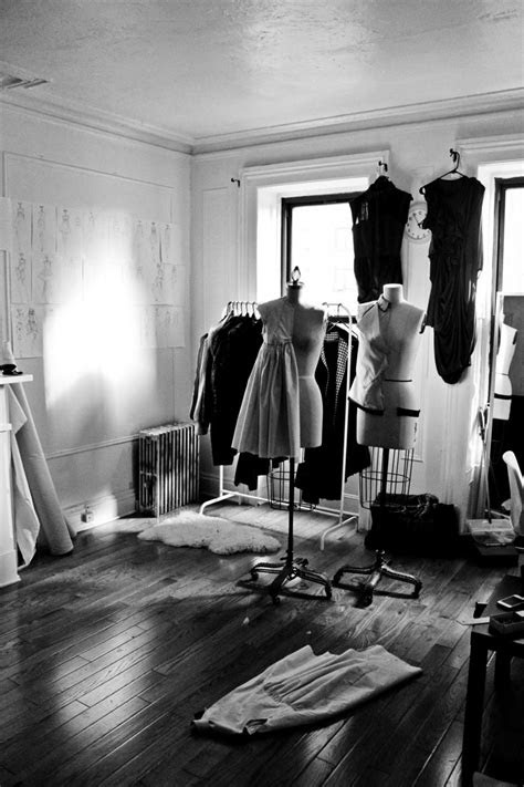 Fashion Design Studio - cool, creative spaces; fashion