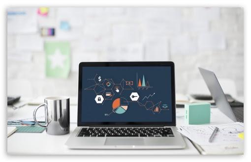 Office Laptop Ultra Hd Desktop Background Wallpaper For 4k Uhd Tv Multi Display Dual Monitor Tablet Smartphone