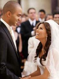 Celebrity Wedding  Eva Longoria and Tony Parker ~ Wedding