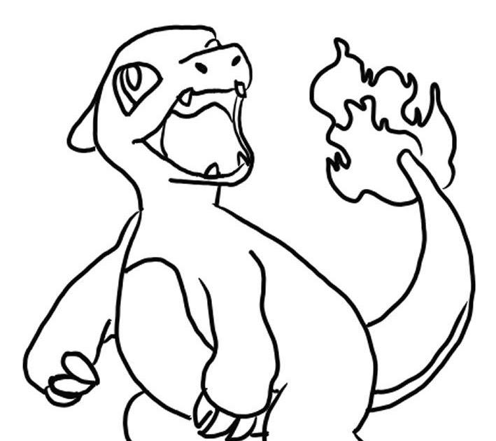 charmeleon coloring page coloringnori coloring pages for kids charmeleon coloring page coloringnori