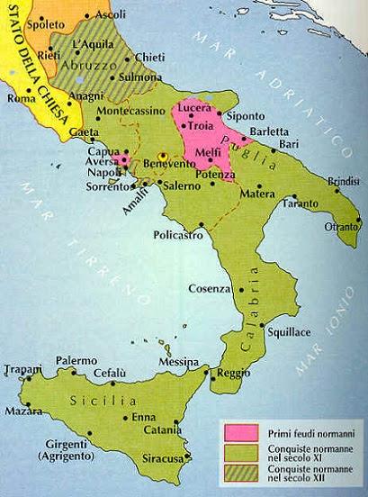 Risultati immagini per normanni in italia