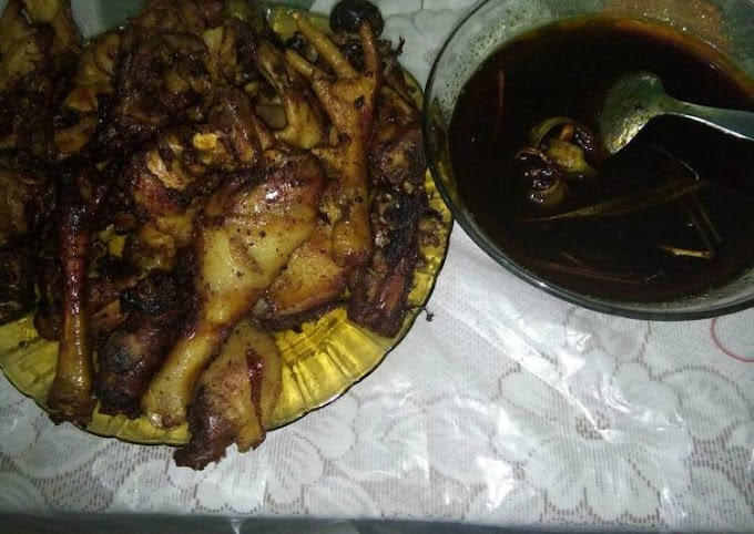 Resep Memasak Ayam Bumbu Hitam Madura Yang Enak