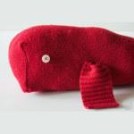 Balena da riciclo maglione Tutorial in Italiano