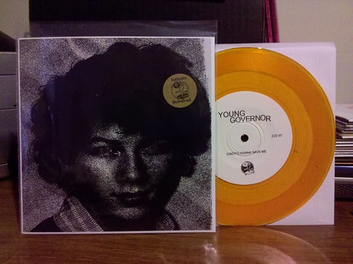 "Young Governor - Cindy's Gonna Save Me 7"" - Gold Vinyl by factportugal"