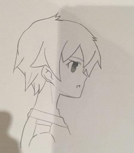 Boy Hair Drawing Side View Kumpulan Soal Pelajaran 5