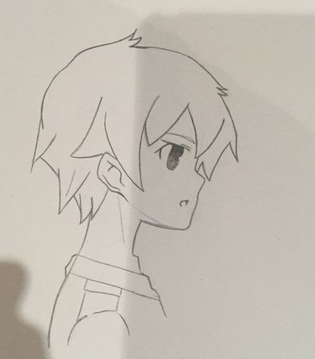 Boy Hair Drawing Side View Kumpulan Soal Pelajaran 5 Anime male hairstyles side view hairstyles by unixcode. boy hair drawing side view kumpulan