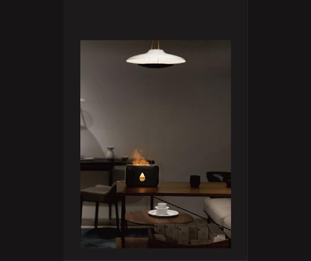 【Nathome NJH18 火焰香薰加濕器】為空氣注入水份與藝術 特別的加濕器