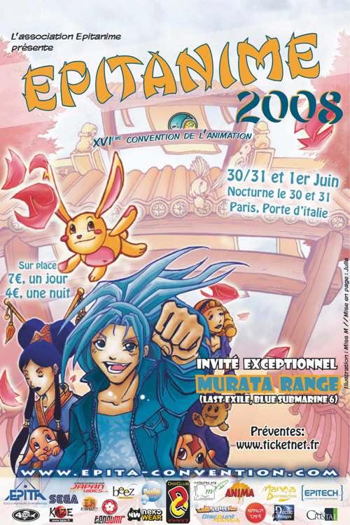 Affiches salon manga Duclos Marina Miss-M