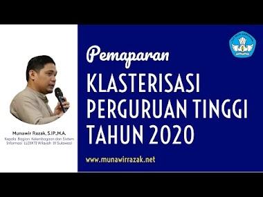 Klasterisasi Perguruan Tinggi Tahun 2020