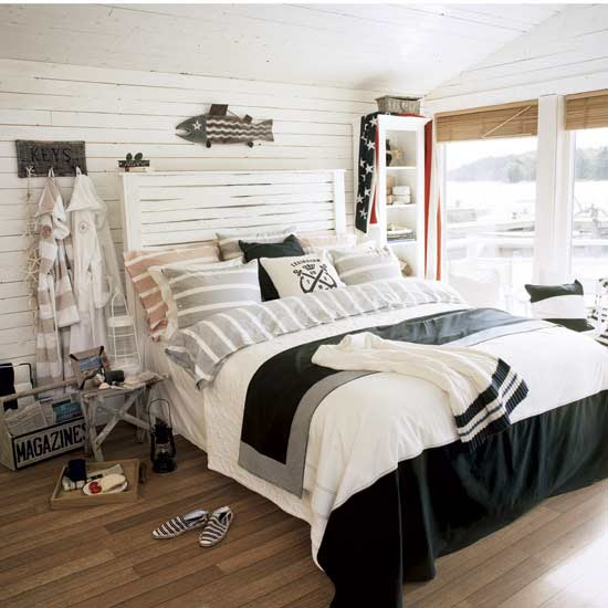 Create-unique-beach-decor-in-your-bedroom | ArhZine - Architecture ...