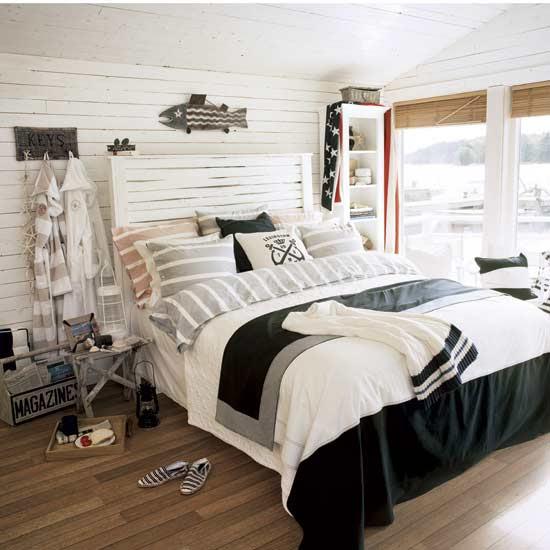Create-unique-beach-decor-in-your-bedroom   ArhZine - Architecture ...