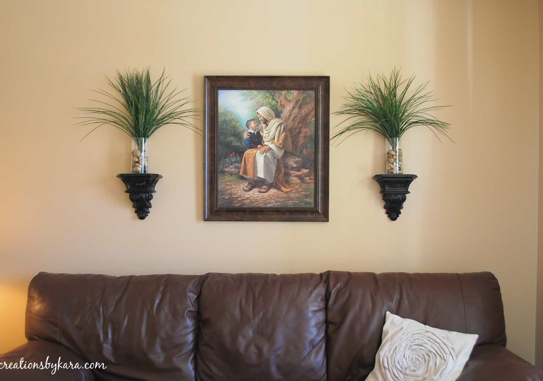 Living Room Re-Decorating: Wall Decor — Creations by Kara