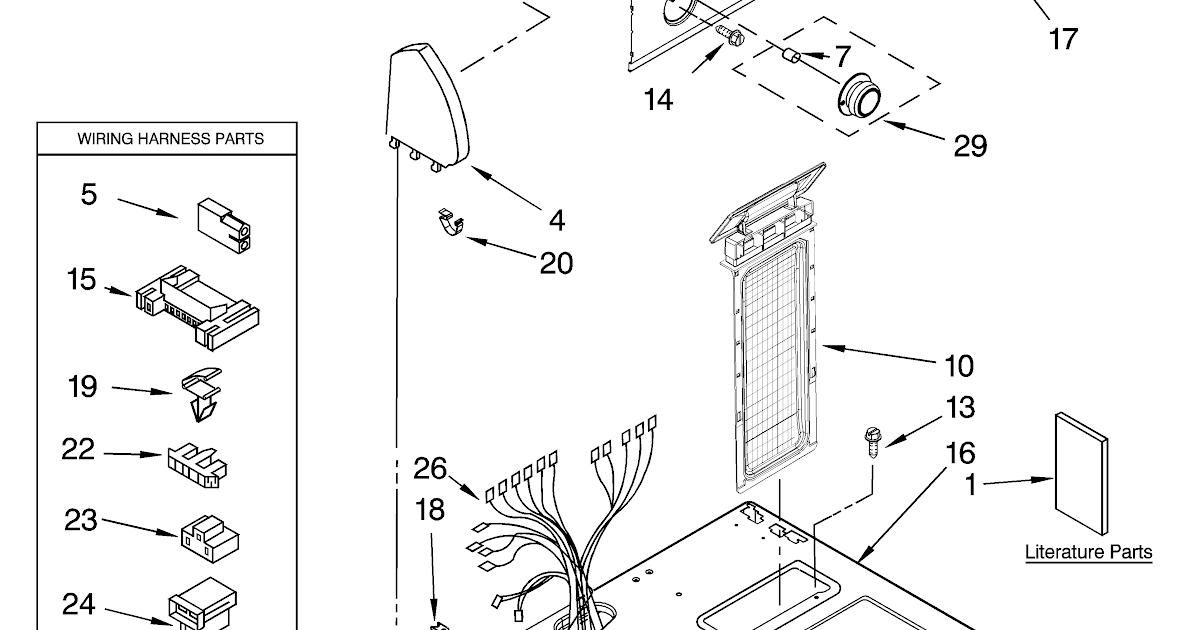 Wiring Diagram  28 Roper Dryer Parts Diagram