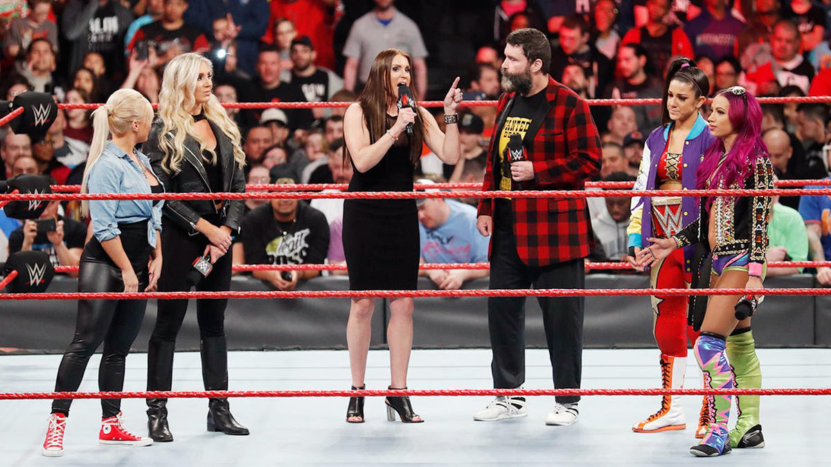Raw Commissioner Stephanie McMahon agrees with The Queen.