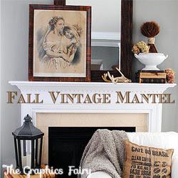 Fall-Vintage-Mantel-GraphicsFairy-250
