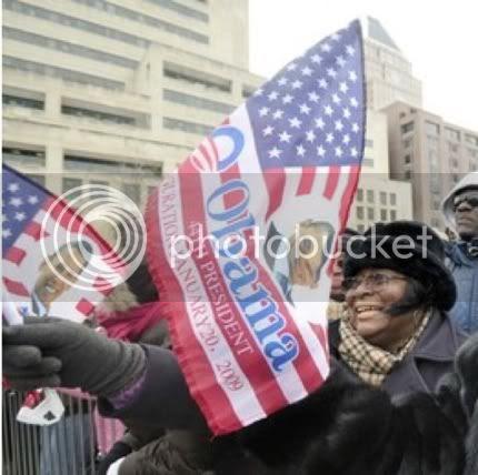 Obama Desecrate Flag