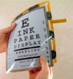 foldable paper display