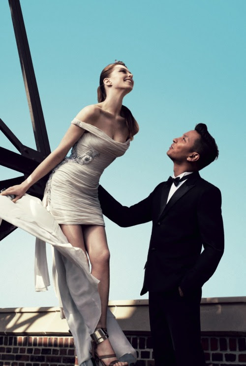 Elettra Wiedemann Models Her Dress for the Costume Institute Gala with Designer Prabal Gurung