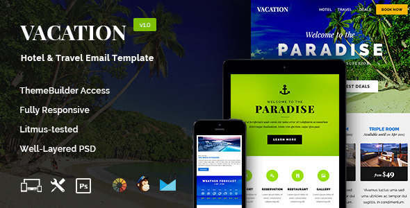 14+ Travel Email Templates Free Website Themes