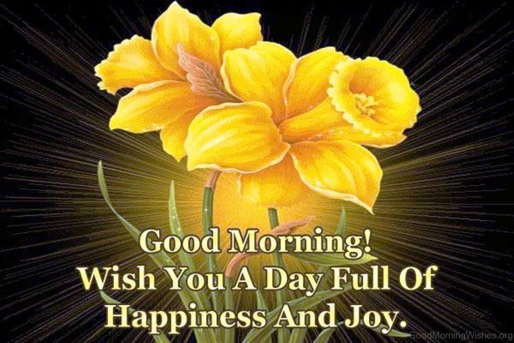 18 Good Morning Joyful Wishes