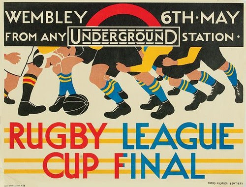 Rugby League Cup Final, 1933; [estimate:  $700 - $1,000]