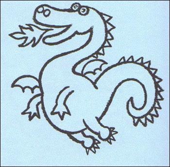 Aprender A Dibujar Dibuja Un Dragón Eshellokidscom