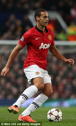 Rio Ferdinand is second on the list with an estimated wealth of £37m