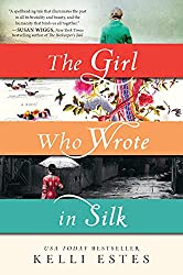 http://silversolara.blogspot.com/2015/07/the-girl-who-wrote-in-silk-by-kelli.html