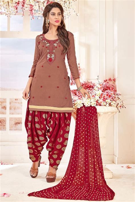New Patiala Style Latest Punjabi Suit Designs 2019 For