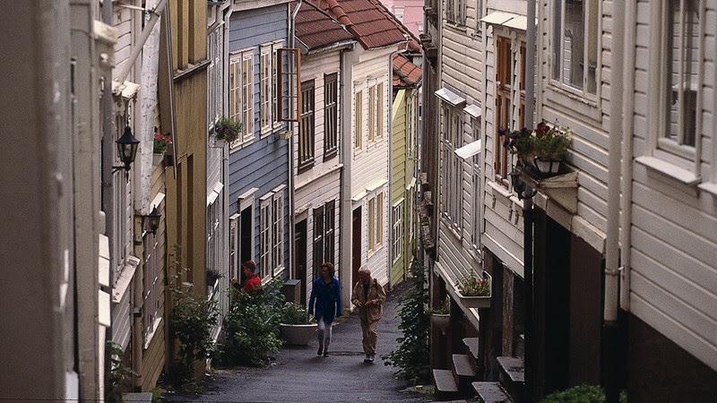 Knosesmauet a Bergen - Foto: Bergen: Oddleiv-Apneseth - visitBergen.com