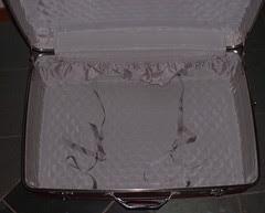 suitcase inside