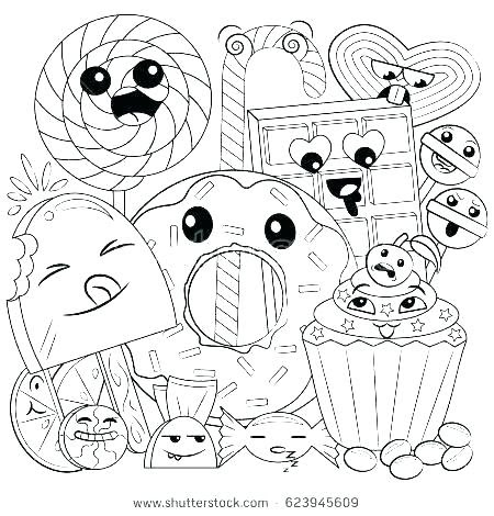 cute food coloring pages collection  print and color  whitesbelfast