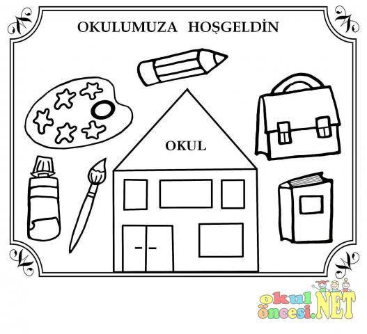 Komik Fipixde Okul öncesi Boyama Etkinlikleri