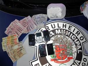 Guarda Municipal de Americana localiza central de distribuição de drogas (Foto: Divulgação/Gama de Americana)