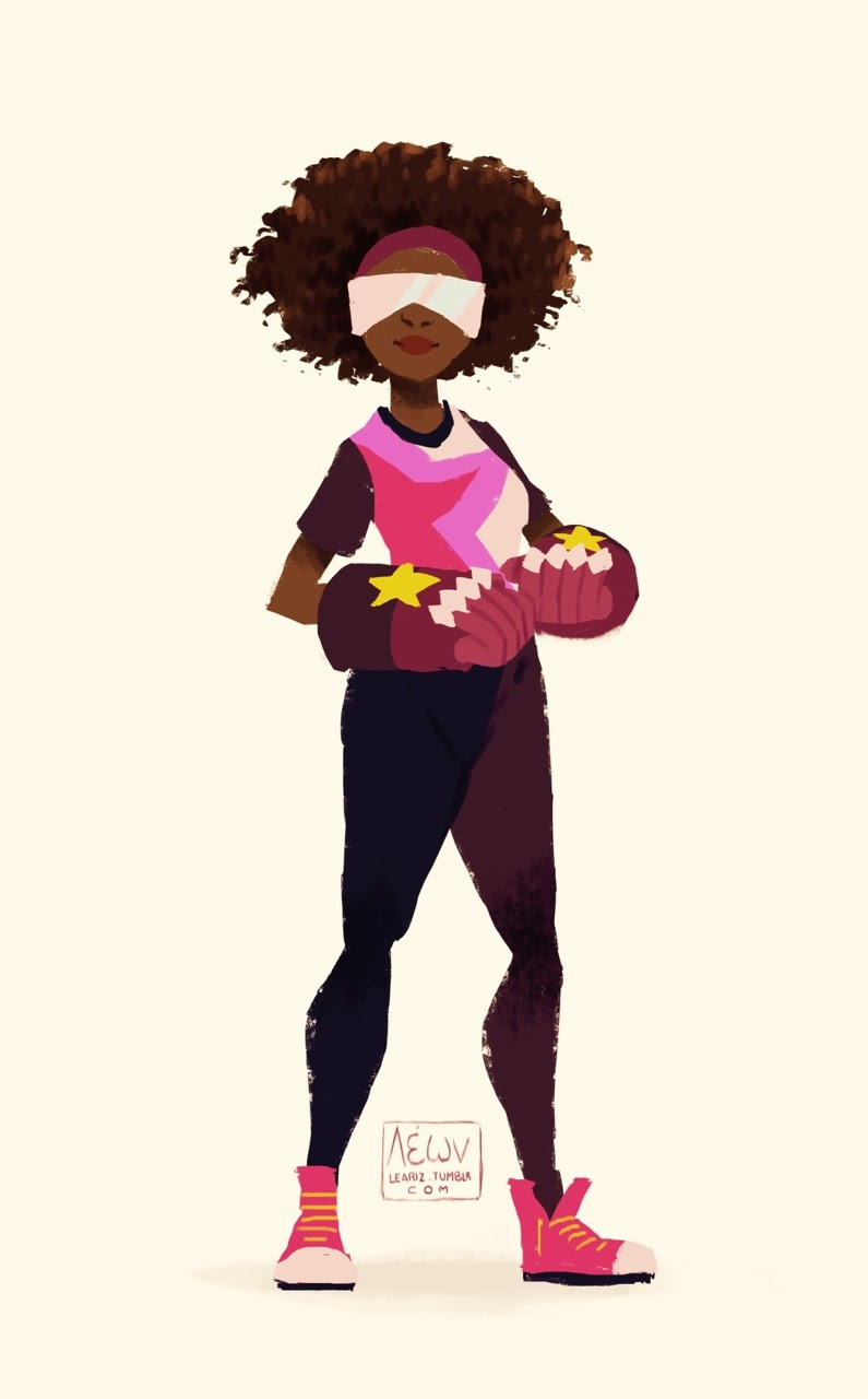 Guess who is cosplaying Garnet for this halloween! Yuup, my Savannah