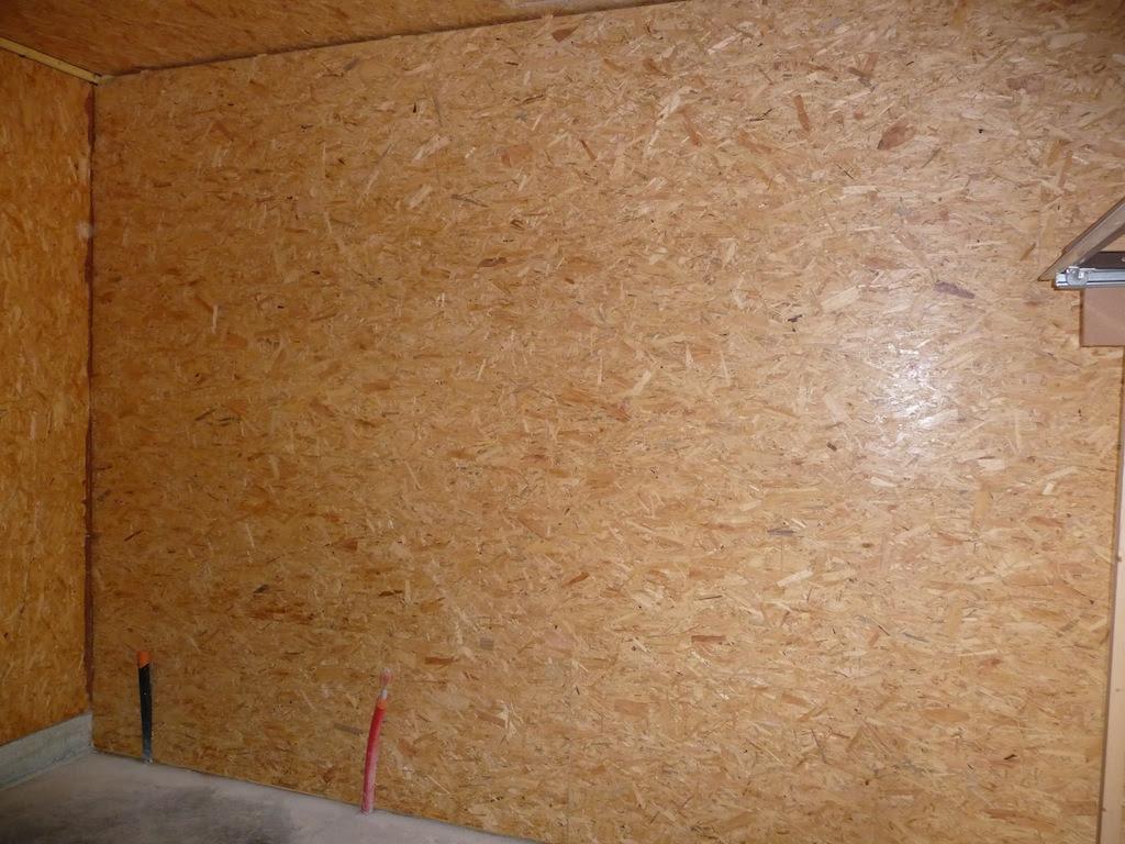 Comment Habiller Un Mur Interieur garage: garage osb mur