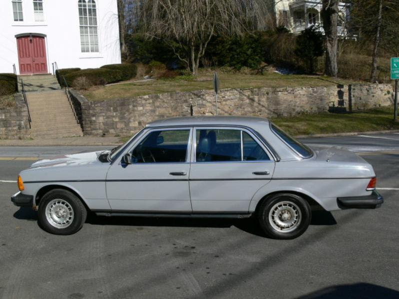 For Sale - 1983 Mercedes Benz 300D Turbo Diesel W123 Sedan ...