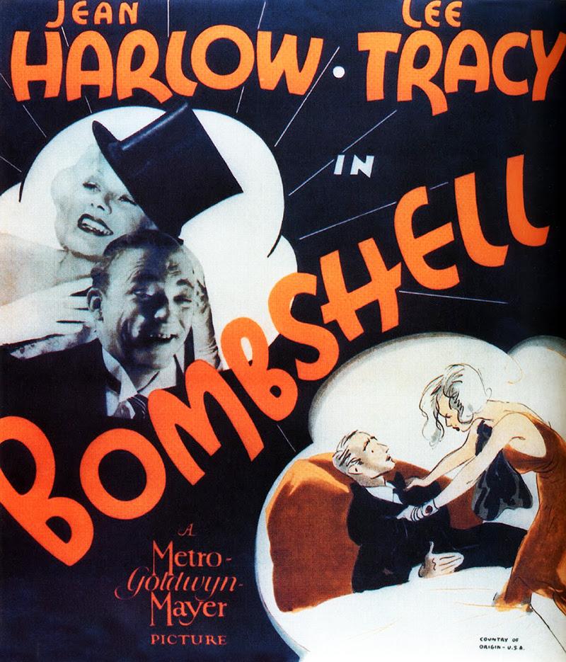 Resultado de imagem para bombshell 1933 poster